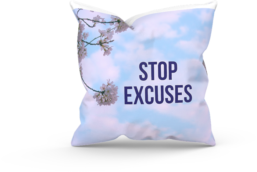 STOP MAKING EXCUSES. Create the LIFE YOU WANT. Figure it OUT NOW.